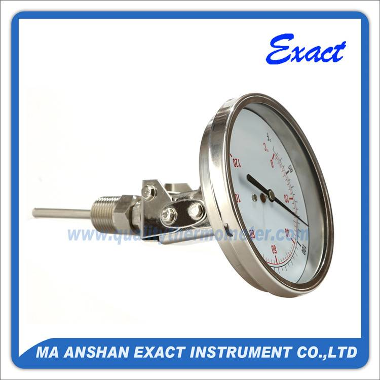 every angles bimetal thermometer