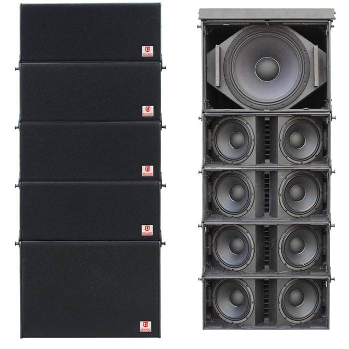 LA-210 dual 10'' Pro sound concert speaker stage line array