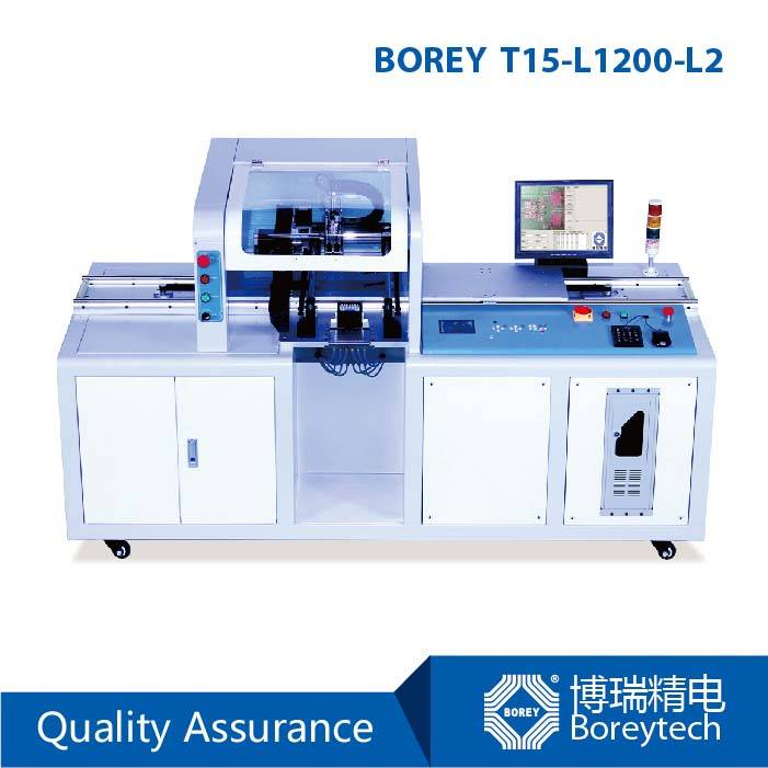 LED SMD Placement Machine BOREY T15-L1200-L2 Robotic Pick and Place