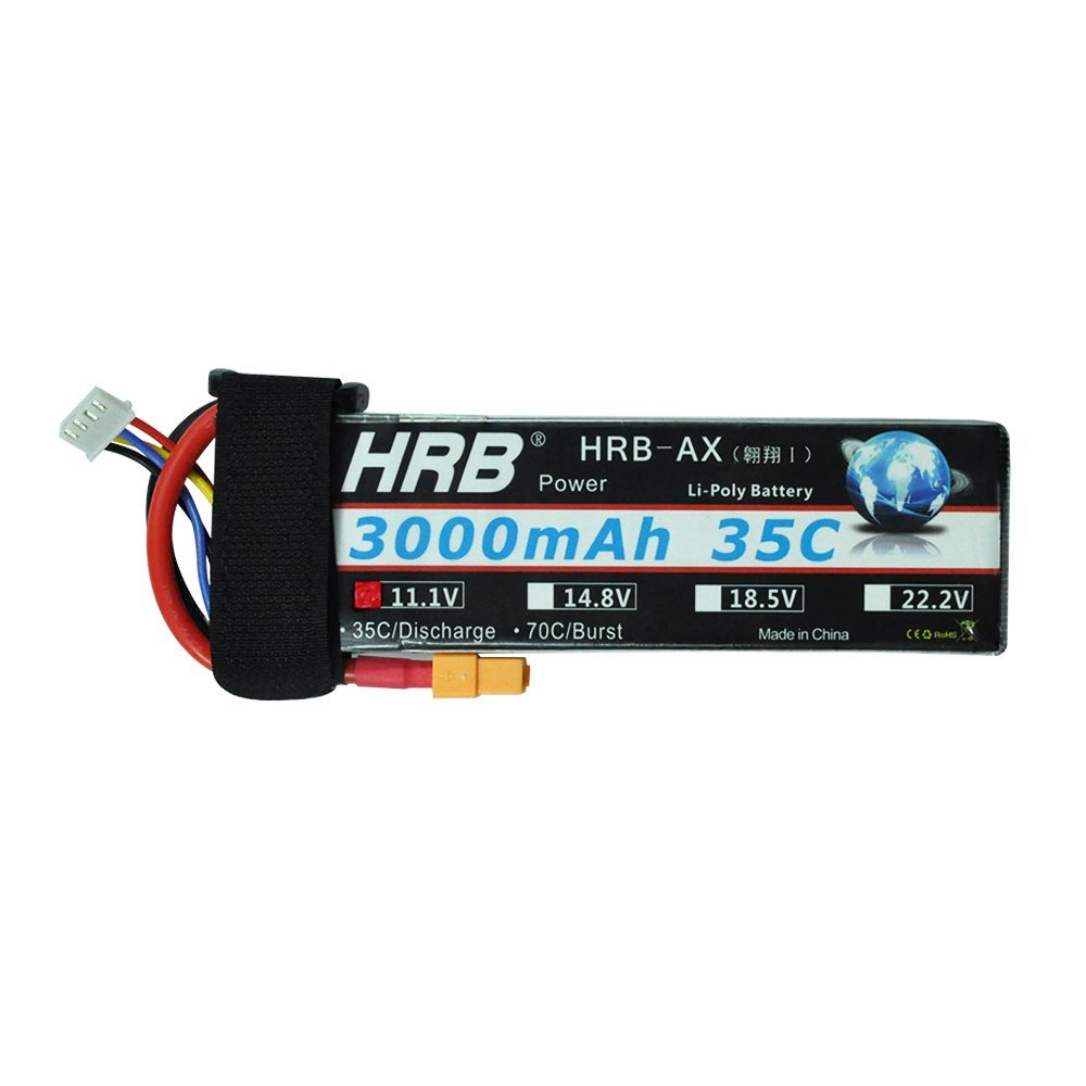 HRB 3S 11.1V 3000mAh 35C Lipo Battery with xt60 Connector for RC Airplane Helicopter Boat Drone