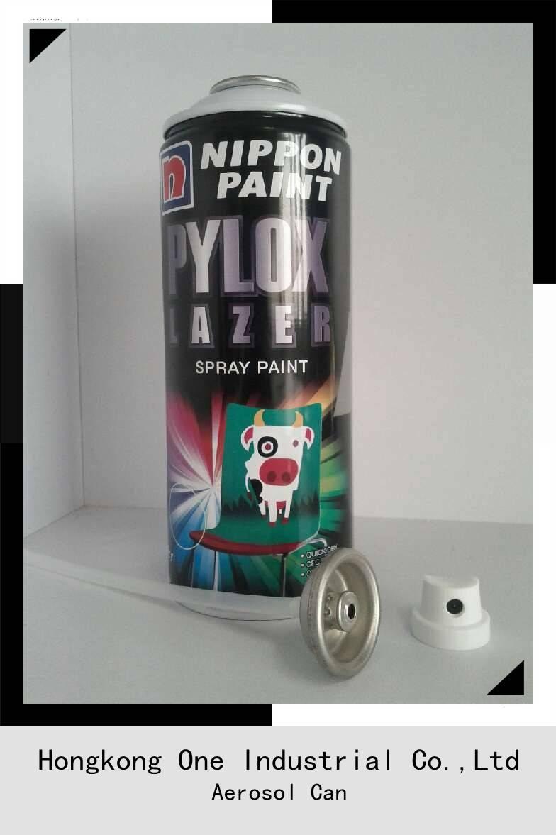 Spray Aerosol Tinplate Can( Aerosol Can-Diameter 65 mm)