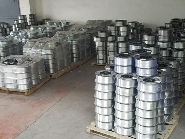 Zinc wire spraying in anti-corrosion