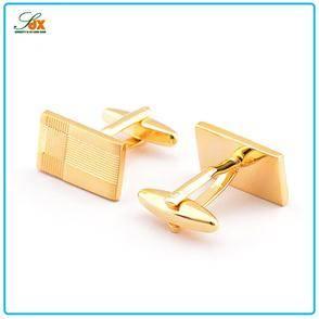 2015 Fashion Wedding Decoration Replica Gold Plated Cufflinks