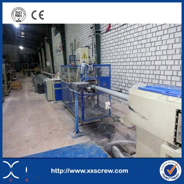 PVC pipe manufacture machine line