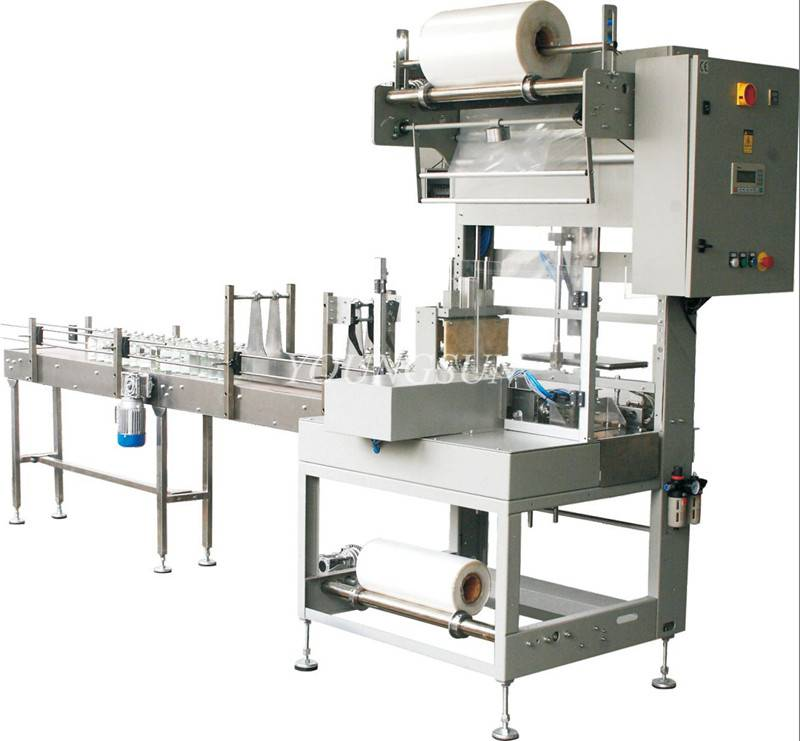 YS-ZB-3 Beverage/Water Bottle Shrink Wrapping Machine