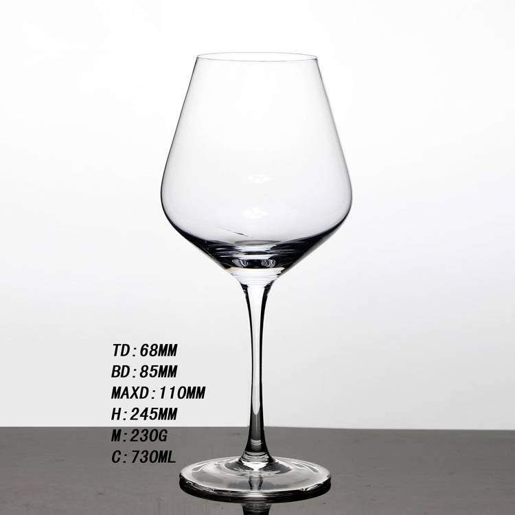 Wholesale Handmade High quality Red Wine Glass