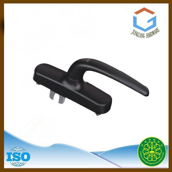 Durable inward opening aluminum window handle