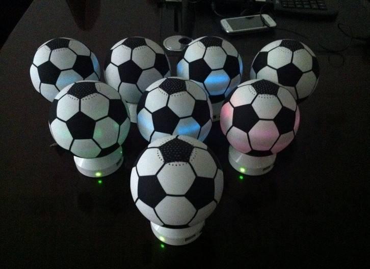 NEW product -Soccer Ball Shaped Speaker Football Speaker for World Cup