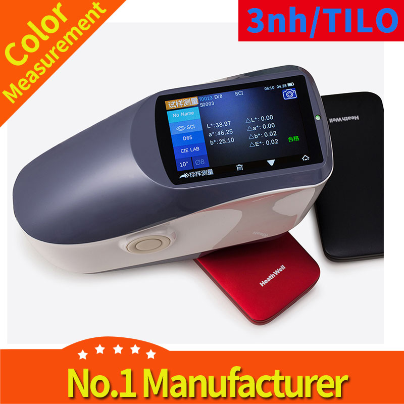 3NH Ys3020 Textile Cloth Spectrophotometer with 4mm Apertures Cie Lab Hunter Lab