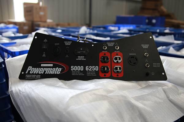 Generator panel Model designed and manufactured for Pramac Generator Powermate