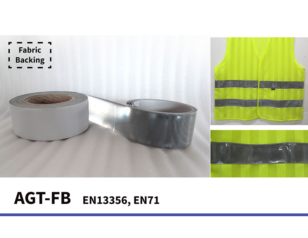 Reflective Fabric Backing Tape EN13356 Reflective Safety Clothing