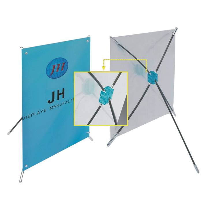 Tabletop Mini X Banner Stand