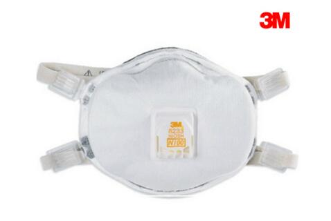 3M 8833 FFP3 With Valve Mask