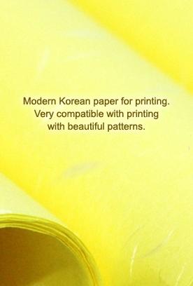Artificial Silk Paper