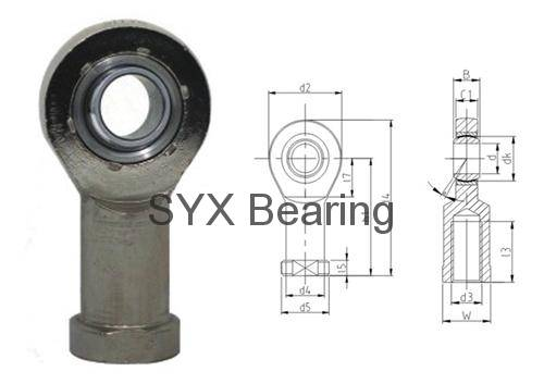 Rod end bearing SI20ET-2RS