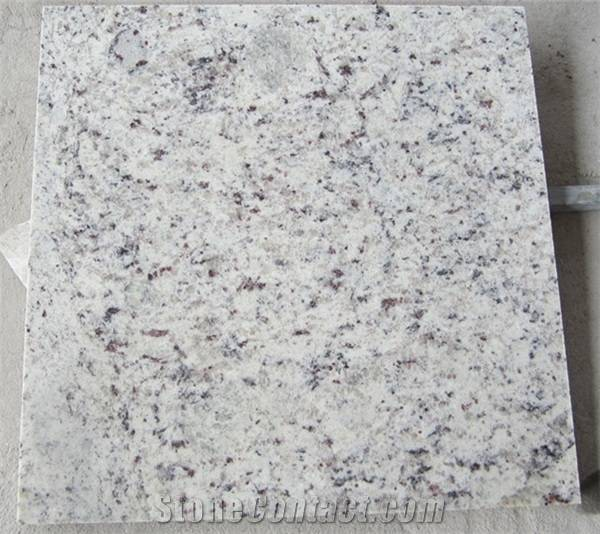 Rose White Granite Tiles& Slabs, Brazil White Granite