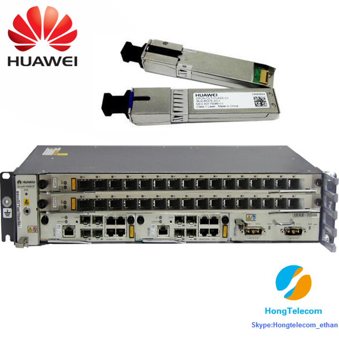 Original FTTH OLT MA5608T with GPBD GPFD PON Boards