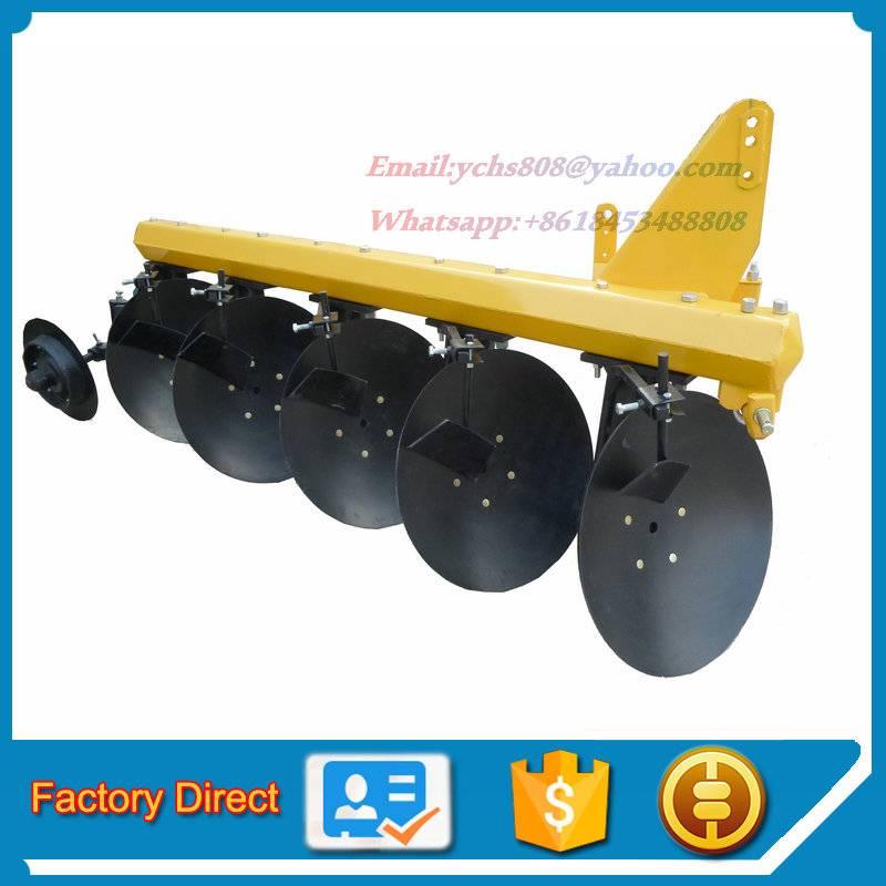 Agricultural tractor mounted baldan disc plough