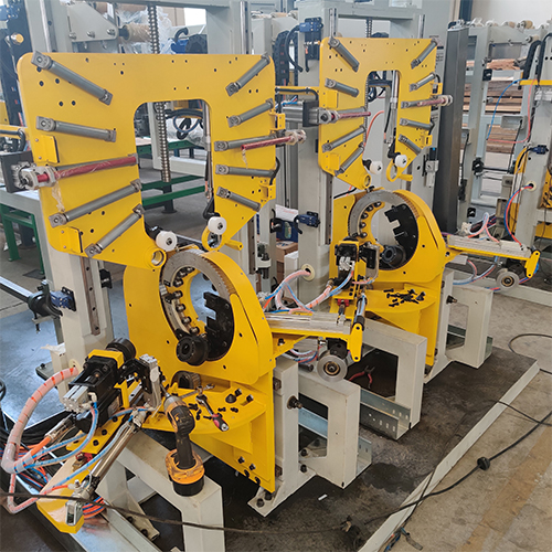 Double-station Automatic Tire Bead Wrapping Machine