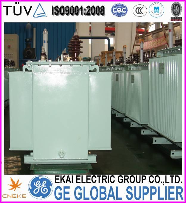 10kV, S9 ,3 phase oil immersion power transformer