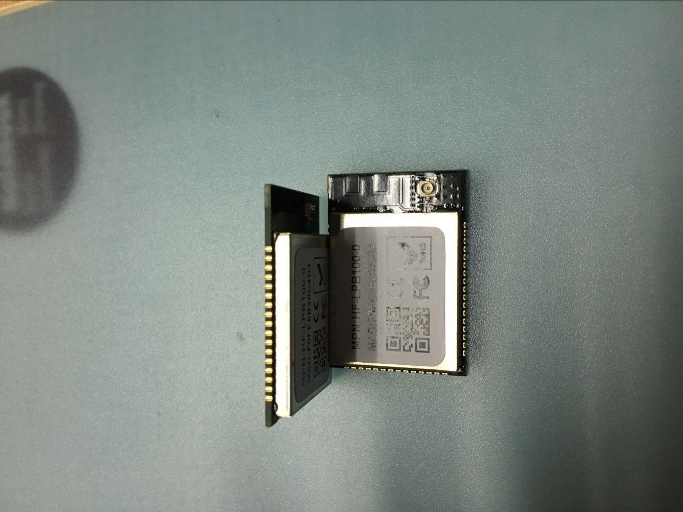 Low power, audio frequency configuration, UART serial port, WiFi wireless module, HF-LPB100U-0