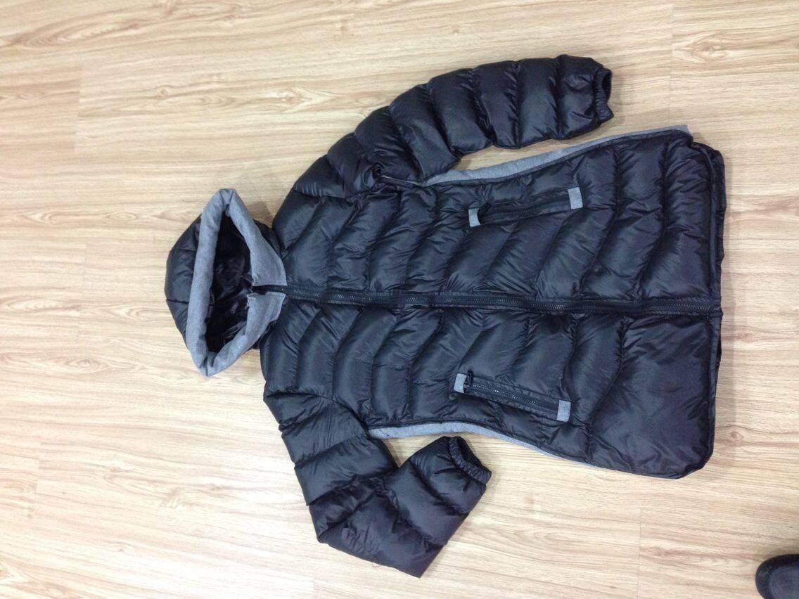 LM009 ladies imitation down jacket