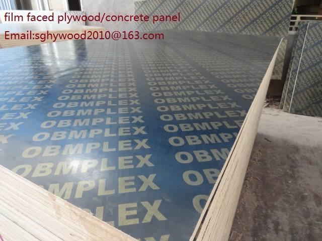 18mm Concrete construction panel wood