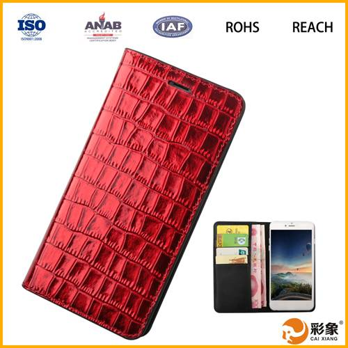 China Trusted Suppliers Leather Phone Case for Lenovo