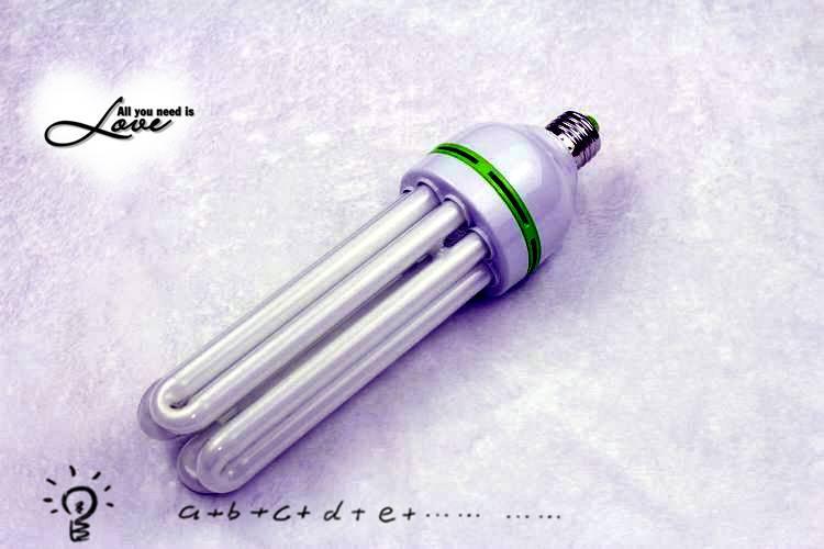 4U E27 CFL Energy saving light bulbs led lighting