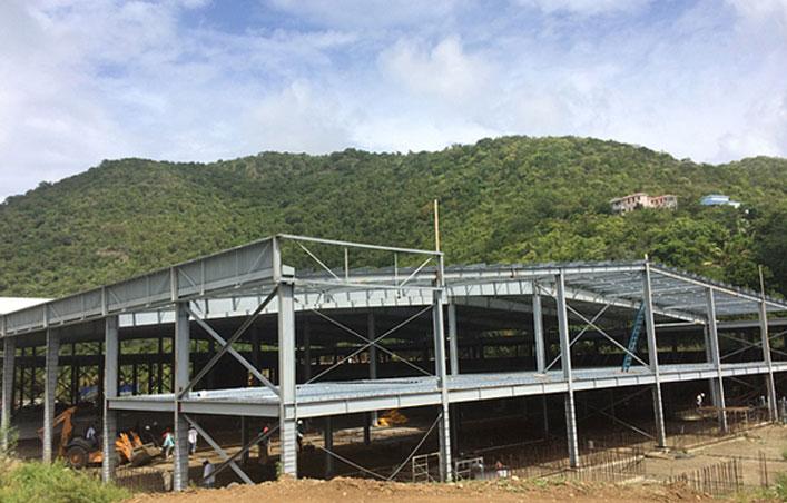 Prefab Steel Structure Warehouse Building