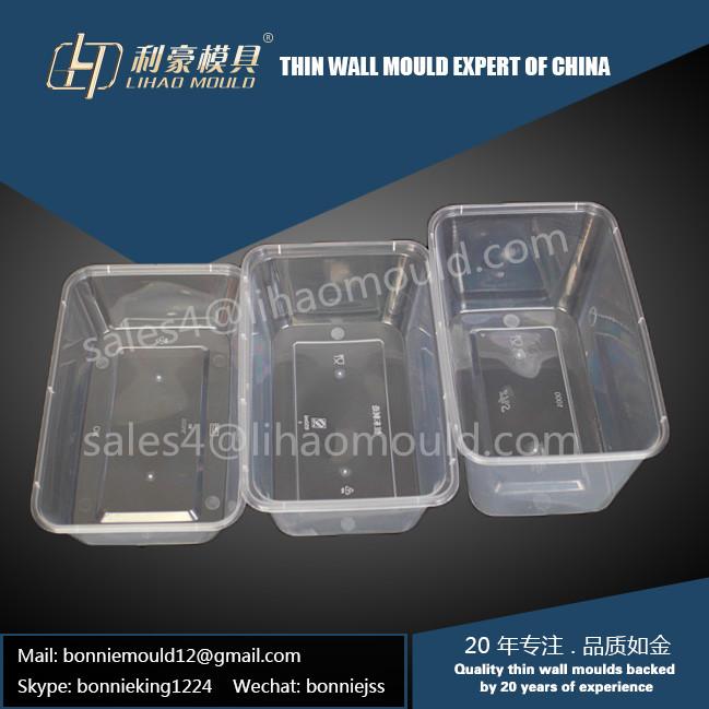 500ml/650ml/1000ml lunch box mould