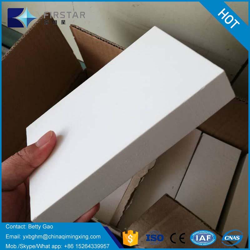 Abrasion Resistant ZTA ceramic lining tiles/bricks