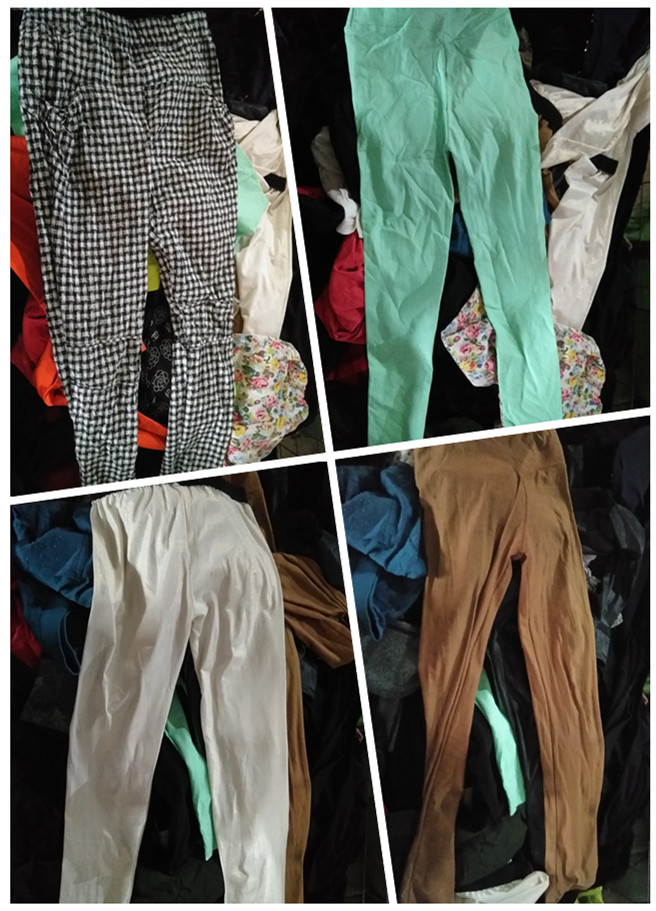 used women cotton pants used clothes sale high quality second hand clothing