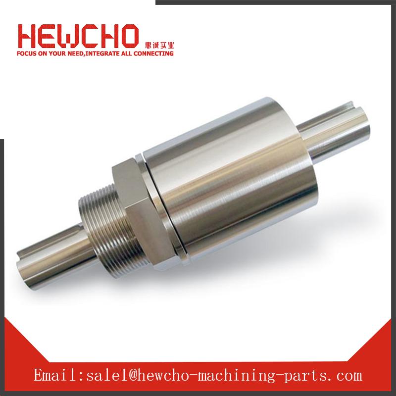 Custom Forged Turning Thread Shaft Machining Screw Shaft China Supplier