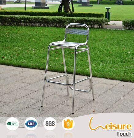 Hot Sale Aluminum Bar Chair without Armrest