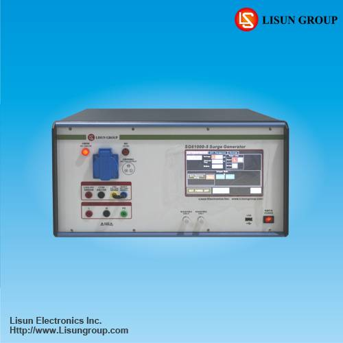 Automatic lighting surge generator SG61000-5 Asynchronous Synchronization 0~360 degrees or Specific