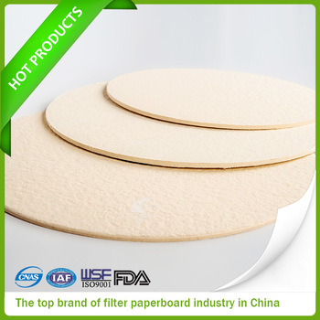 depth filter paperboard made in china