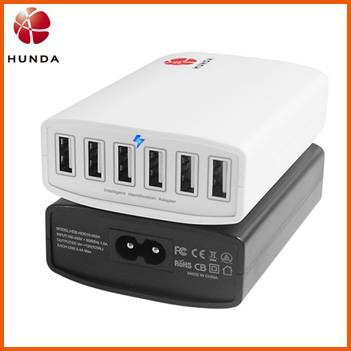 Multi Port USB Charger 60w USB Phone Charger