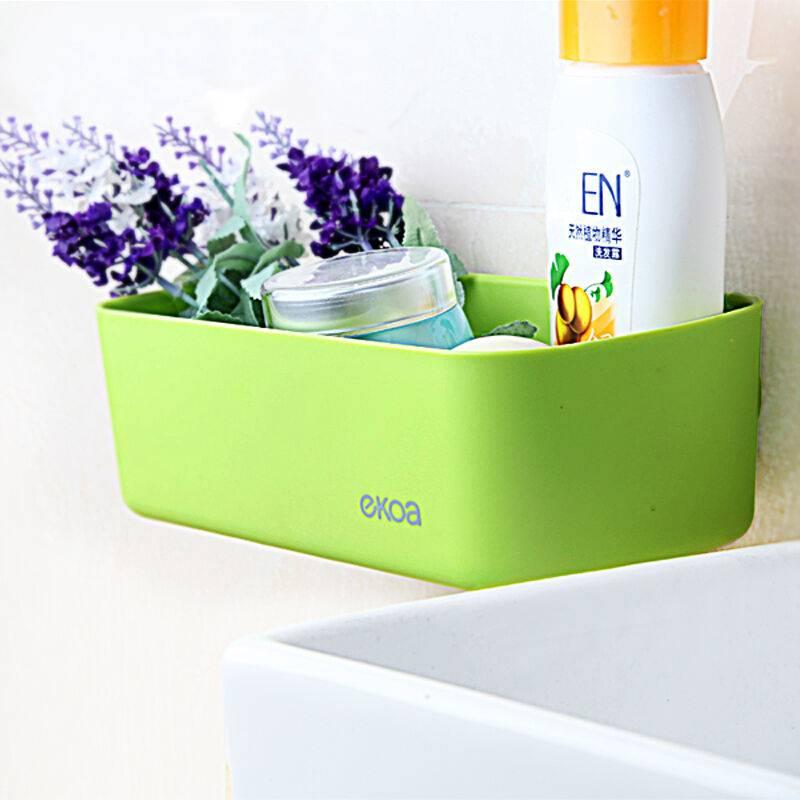 EKOA ek-802 Don't need to drill nail can drop non-trace hidden chuck type bathroom shelf