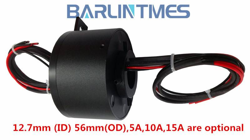 Through Hole Slip Ring with 12.7mm Diameter