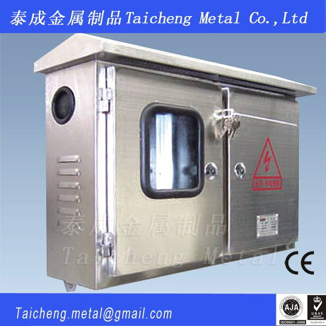 Well-quality window type stainless steel distribution box