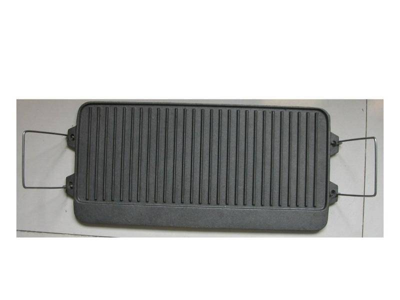 Grill plate by die casting