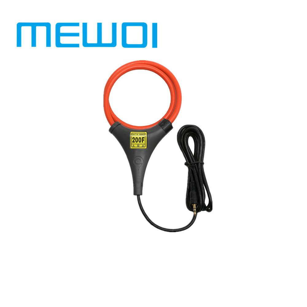 MEWOI300G Portable High Accuracy Flexible coil current sensor/meter/probe