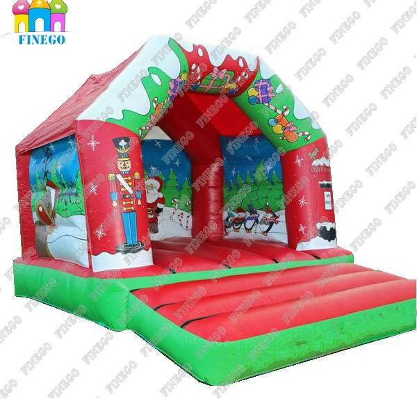 2016 Newest Origional Design Inflatable Christmas Bouncy Castle