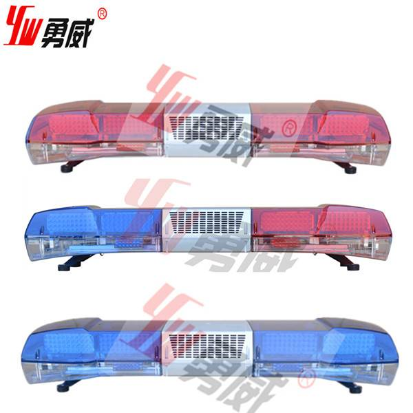 1200mm led red and blue security car lightbar