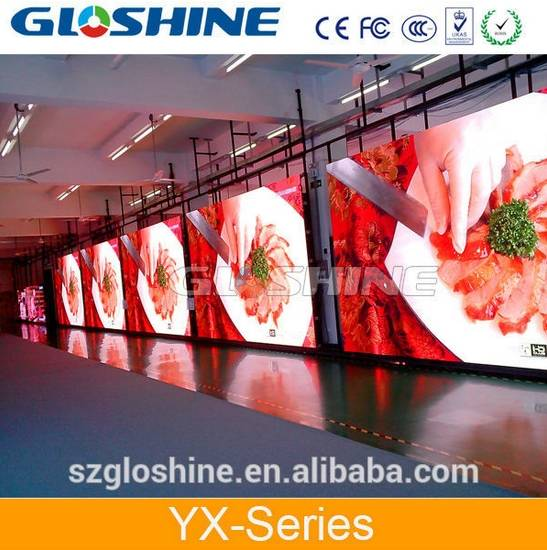 Alibaba Express p3.91 p4.8 p5.95 indoor led large screen display