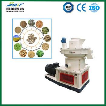 CE ISO SGS approved wood pellet making machine with high quality