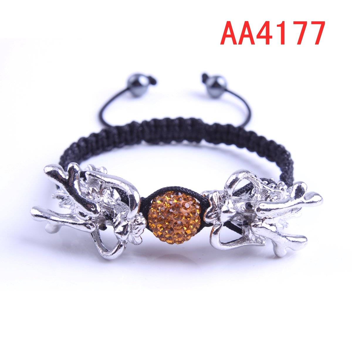 latest dragons with crystal ball bracelets