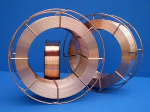 CO2 gas shielded welding wire ER70S-6/SG2,SG3 1.0mm 25kg spool/coil k300