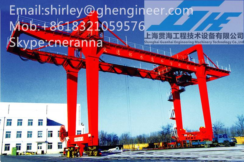Track Type Container Gantry Crane
